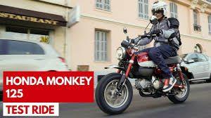 L'annuncio del test ride Honda Monkey 125