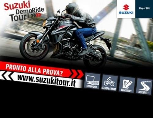 test ride suzuki