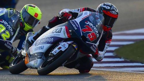 Albert Arena vittorioso in Qatar nella gara di apertura della stagione Moto2