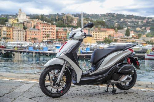 Il Piaggio Medley, uno degli scooter in promozione