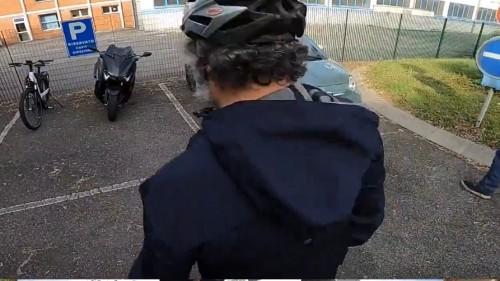 La partenza del test di Motociclismo