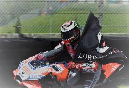 Jorge Lorenzo vittorioso al Mugello nel 2018