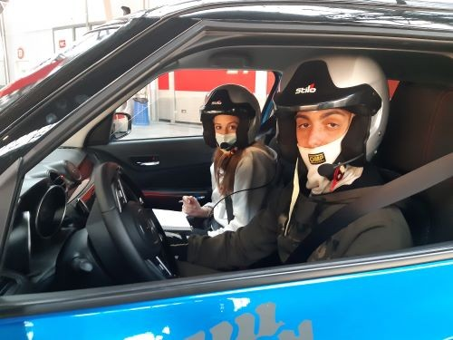 Fersini rally in auto