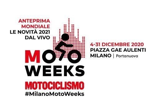 Motoweeks manifesto cartolina
