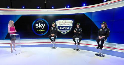 Vera Spadini intervista Marini, Vietti e Bezzecchi, gli alfieri della SKY Team