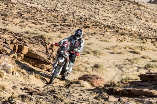 Franco Picco durante un delicato passaggio della Dakar 2021 (Foto RallyZone)