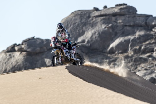 Franco Picco sfida le dune durante la Dakar 2021
