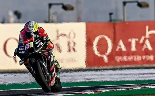 Aleix Espargaro: ottimo esordio in Qatar con la sua Aprilia RS-GP 2021