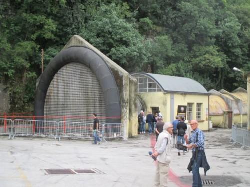 La storica galleria del vento Moto Guzzi a Mandello
