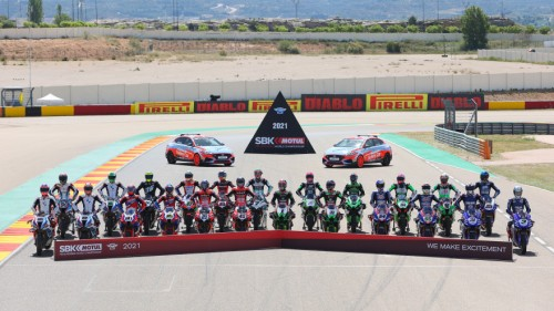 I partecipanti al Mondiale Superbike 2021 (Dorna.com)