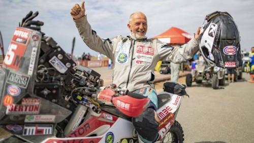 Franco Picco alla conclusione della Dakar 2020