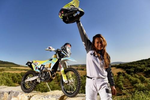 Francesca Gasperi all'Andalucia Rally