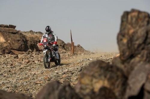 Franco Picco impegnato nel prologo della Parigi-Dakar 2021