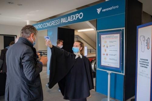 Controllo della temperatura al Centro congressi di Veronafiere