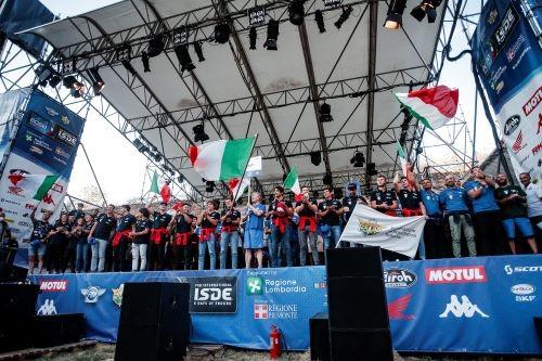 ISDE 2021: la cerimonia di apertura al castello visconteo di Pavia