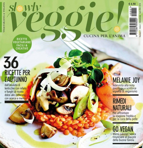 La cucina vegan anche in edicola veggo anch io s tu s - Una vegetariana in cucina ...