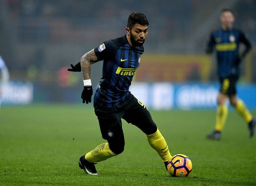 during the Serie A match between FC Internazionale and Pescara Calcio at Stadio Giuseppe Meazza on January 28, 2017 in Milan, Italy.