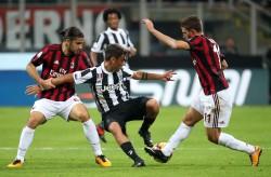 Soccer; Serie A: Milan-Juventus