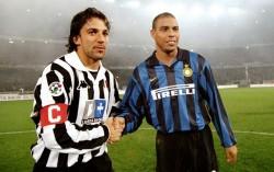 Alessandro Del Piero e Ronaldo, simboli di un'altra epoca
