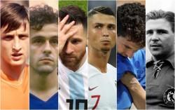 Crujiff, Platini, Messi, CRistiano Ronaldo, Roberto Baggio, Puskas: palloni d'oro che non hanno mai vinto un Mondiale
