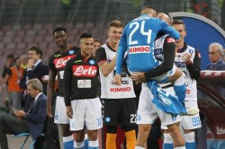 Soccer: Serie A; SSC Napoli-US Sassuolo
