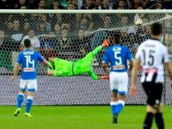 Il gol dell'1-0 di Fabian Ruiz