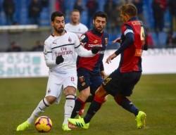 Soccer: Serie A; Genoa - Milan