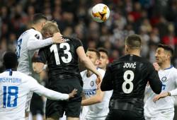 Francoforte vs Inter - UEFA Europa League
