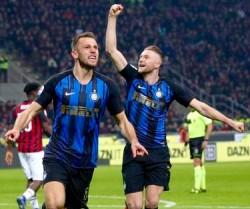 Soccer: Serie A; AC Milan v FC Inter