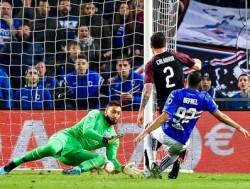 Soccer: Serie A; Sampdoria-Milan