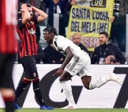 Italy serie A soccer match Juventus vs Milan