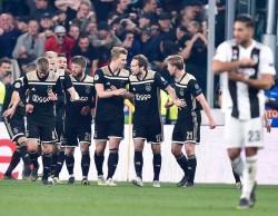 Champions Leauge soccer match Juventus FC vs AFC Ajax