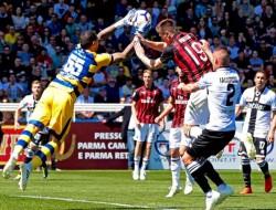 Soccer: Serie A; Parma Calcio 1913 vs AC Milan