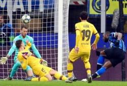 Soccer: Champions League; Inter-Barcelona