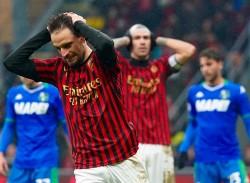 MILAN-SASSUOLO 0-0 / LA delusione di Bonaventura e Romagnoli