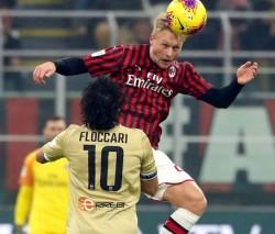 Soccer: Coppa Italia; Ac Milan vs Spal
