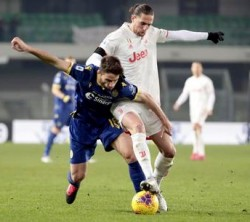 Soccer: Serie A; Verona-Juventus
