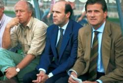Con Facchetti sula panchina dell'Inter