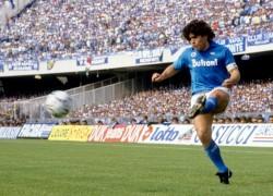 Il sinistro di Maradona