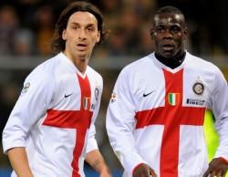 Con Zlatan Ibrahimovic