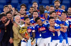 Soccer: Italian Cup; Napoli-Juventus
