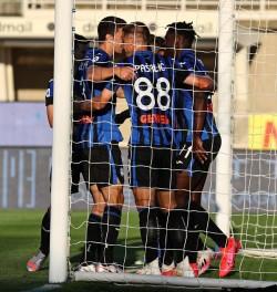 Soccer: Serie A; Atalanta-Sassuolo