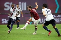 Soccer: serie A; Ac Milan vs Bologna