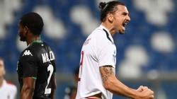 Sassuolo-Milan serie A