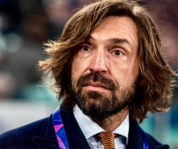Italy Juventus vs Atletico Madrid Andrea Pirlo during the Champions League match Juventus FC vs At