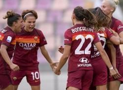 AS Roma vs Pink Bari - Campionato di Calcio serie A femminile