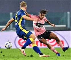 Soccer: Serie A; Juventus-Hellas Verona