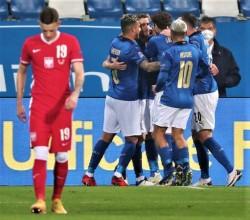 Soccer: UEFA Nations League ; Italy - Poland