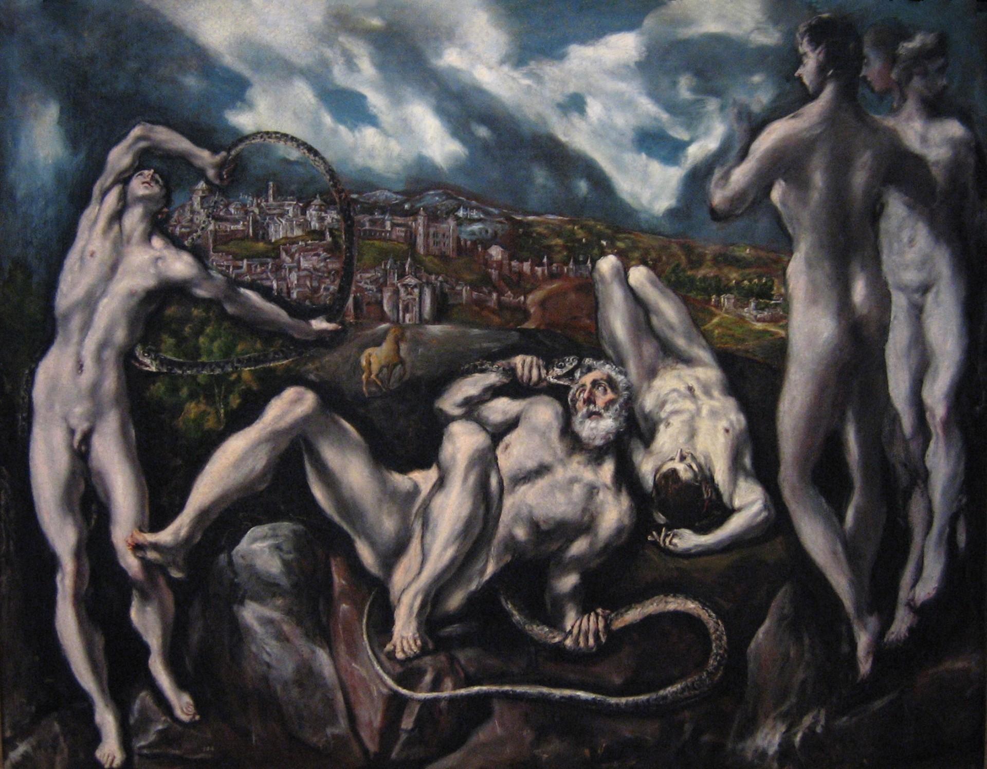 El_Greco_-_Laocoon