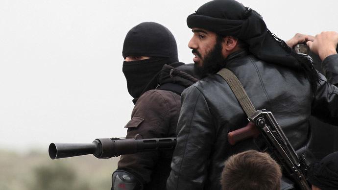 Miliziani di Al Nusra vicino ad Aleppo Guillaume Briquet/Agence France-Presse